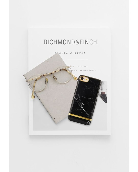 Richmond & Finch Black Marble - Iphone 7/8