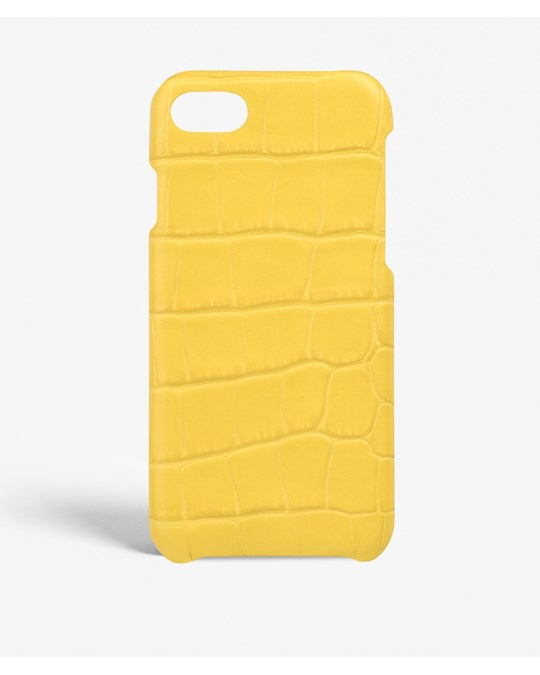 The Case Factory Iphone 7/8 Crocodile Lemon Yellow