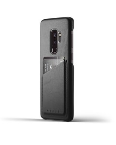 Full Leather Wallet Case For Galaxy S9 Plus - Black