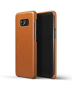 Leather Case For Galaxy S8+ Saddle Tan