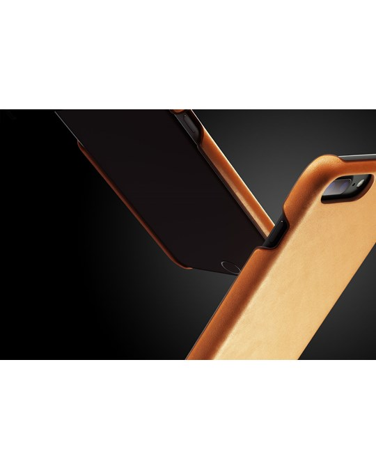 Mujjo Leather Case For Iphone 8 Plus / 7 Plus - Tan