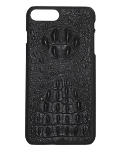 Aragon Croco Genuine Leather Case Black - Iphone 7/8 Plus
