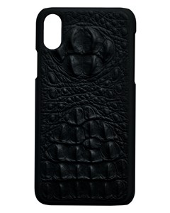 Aragon Croco Genuine Leather Case Black - Iphone X/xs