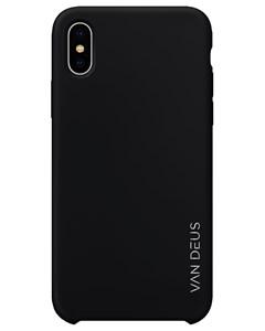 Liquid Silicone Case Black - Iphone X/xs