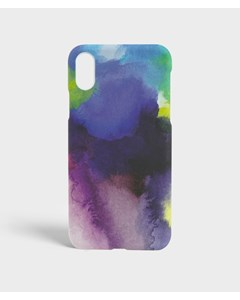 S.c Iphone X/xs Aquarello Purple