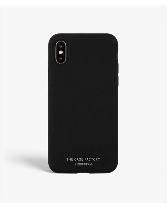 The Case Factory S.c Iphone X/xs Silicone Black