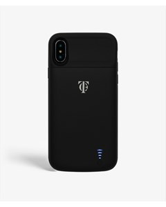 S.c Iphone X/xs Silicone Black Battery Case