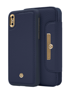 N303 Magnetic Case & Wallet Oxford Blue  - Iphone X/xs  Oxford Blue