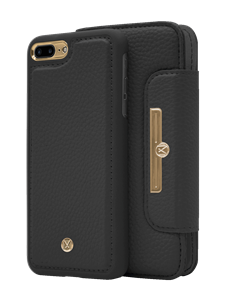 N303 Magnetic Case & Wallet Midnight Black  - Iphone 7/8 Plus  Midnight Black