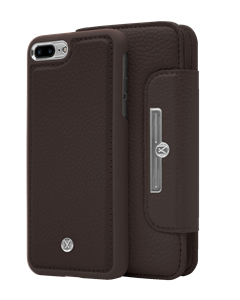 N303 Magnetic Case & Wallet Walnut Dark Brown  - Iphone 7/8 Plus  Walnut Dark Brown
