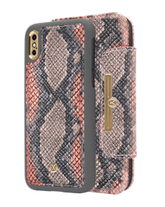 N303 Magnetic Case & Wallet Multicolor California Snake  - Iphone X/xs  Multicolor California Snake