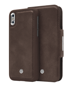 N305 Magnetic Case & Wallet Walnut Dark Brown  - Iphone X/xs  Walnut Dark Brown