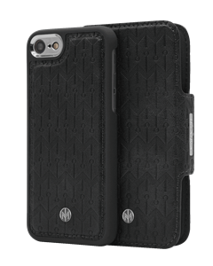 N305 Signature Magnetic Case & Wallet Midnight Black  - Iphone 6/6s/7/8  Midnight Black