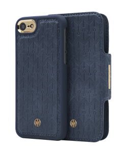 N305 Signature Magnetic Case & Wallet Oxford Blue  - Iphone 6/6s/7/8  Oxford Blue
