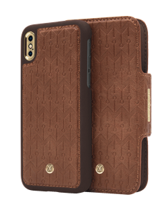 N305 Signature Magnetic Case & Wallet Oak Light Brown  - Iphone X/xs  Oak Light Brown