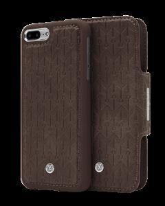 N305 Signature Magnetic Case & Wallet Walnut Dark Brown  - Iphone 7/8 Plus  Walnut Dark Brown
