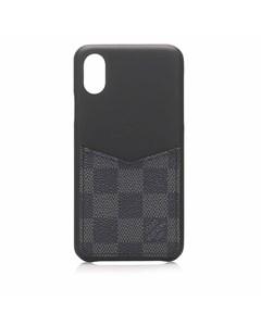 Louis Vuitton Damier Graphite Iphone Xs Max Bumper Black