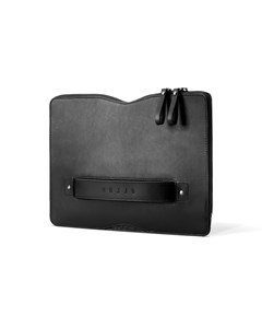 Carry-on Folio Sleeve For 12-inch Macbook - Black
