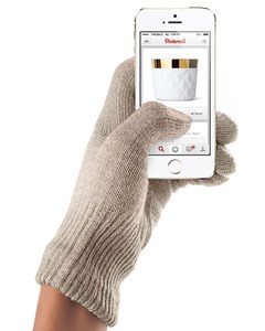 Touchscreen Gloves - Sandstone  (s/m)