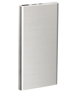 Stainless Steal Power Bank 10 000 Mah