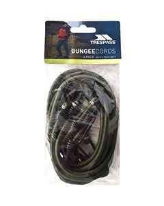 Trespass Bungee Cords (pack Of 4)