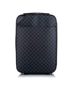 Louis Vuitton Damier Graphite Pegase Light 55 Black