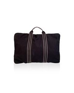 Hermes Paris Cotton Fourre Tout Document Holder Briefcase