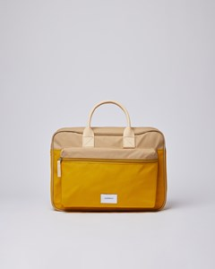 Emil Multi Yellow / Beige With Natural Leather