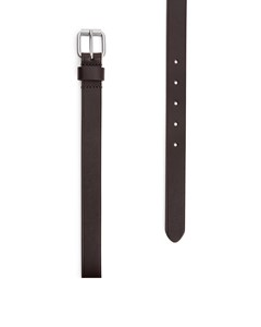 Standard Slim Belt Dark Brown