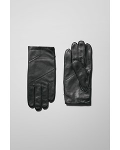 End Leather Gloves Black