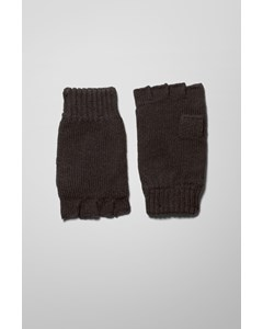 Wood Gloves Black
