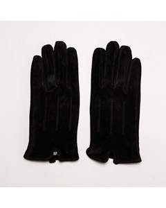 Suede Leather Gloves Asg10 Black