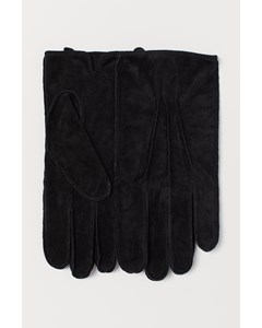 Suede Gloves Black