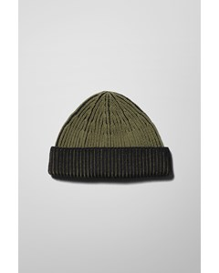 Stan Two Toned Beanie Green