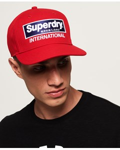 International B-boy Cap Red