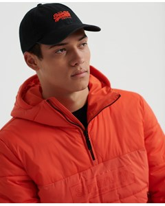 Orange Label Cap Black