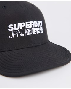 6 Panel Soft Cap Black