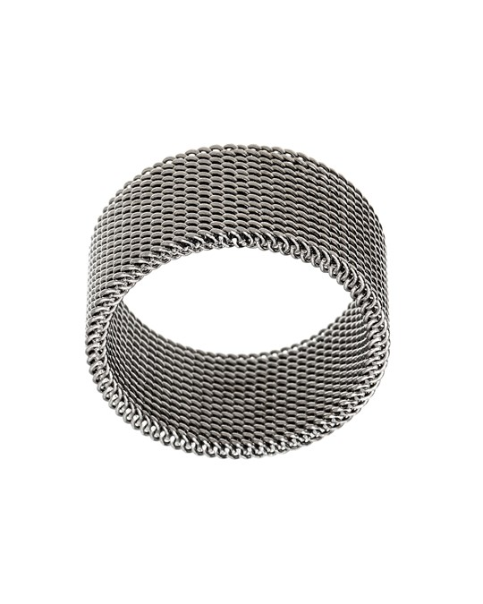 Edblad Sand Male Ring Matt Stainless Steel