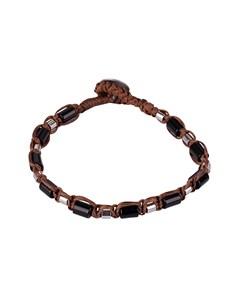 Sabah Bracelet Brown/black/stainless Steel