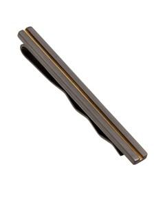 Line Krawattenklammer Schwarz/Gold