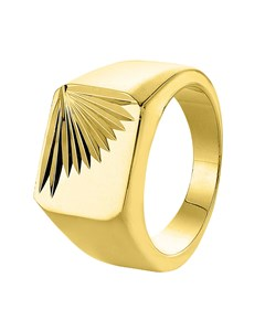 Goldplated Zegelring