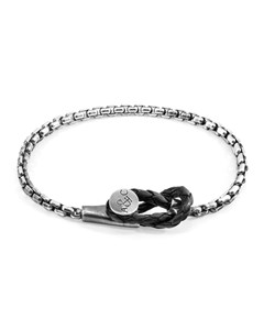 Anchor & Crew Dundee Mooring Silver Chain Bracelet