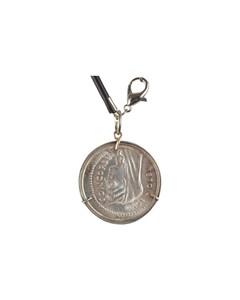 1000 Lire Commemorative Coin Silver Necklace Pendant Concordia