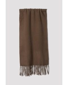 M. Cashmere Scarf Grey Taupe