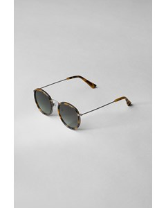 Explore Mixed Rounded Sunglasses Beige