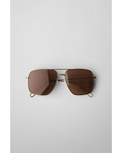 Pass Aviator Sunglasses