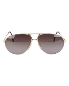 Vintage Aviator Silver Sunglasses 5893 4000 62mm