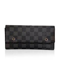 Louis Vuitton Damier Graphite Portefeuille Long Modulable Wallet