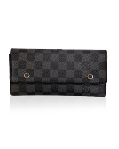 Louis Vuitton Damier Graphite Portefeuille Long Modulable Wallet