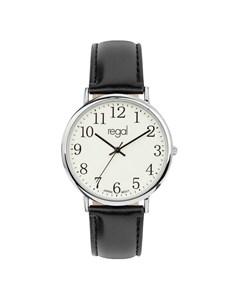 Regal Horloge Met Een Zwarte Band